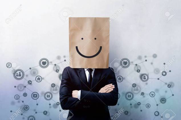 Customer Experience Concept, Portrait of Happy Businessman Clien