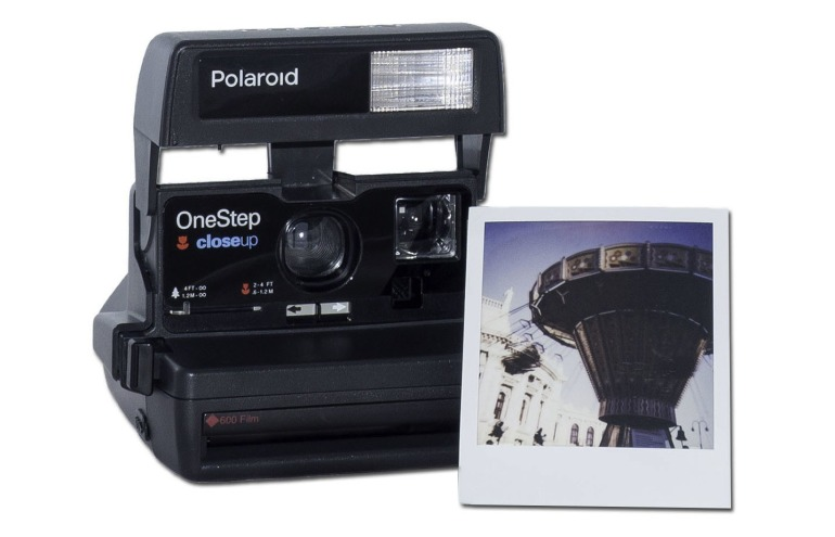 Polaroid-mit-Beispielbild